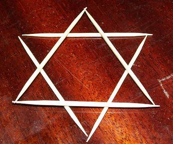 Как из 6 спичек сделать 4 равносторонних  279